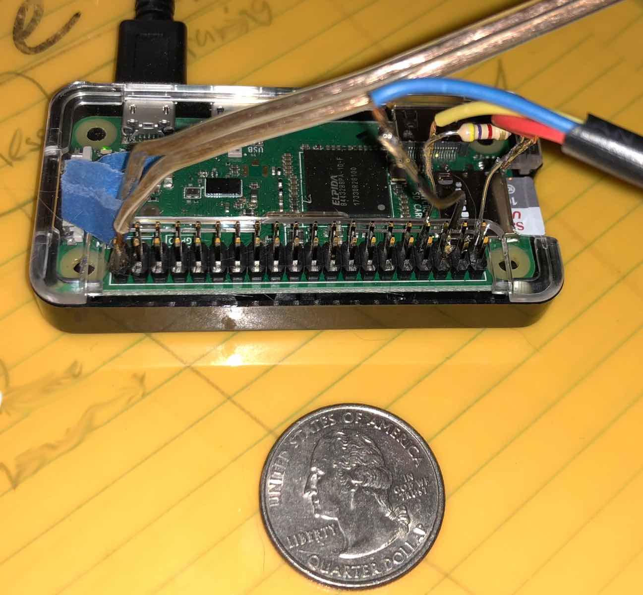 Raspberry Pi aquarium heater control and monitor